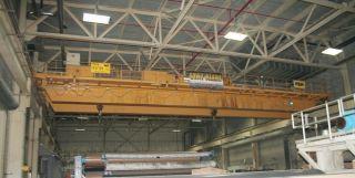 62 Ton P & H Dual Trolley Overhead Bridge Crane,  S/n C27140 photo