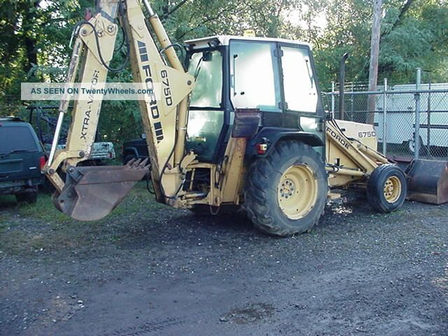 Ford 655d Backhoe Parts : Ford d