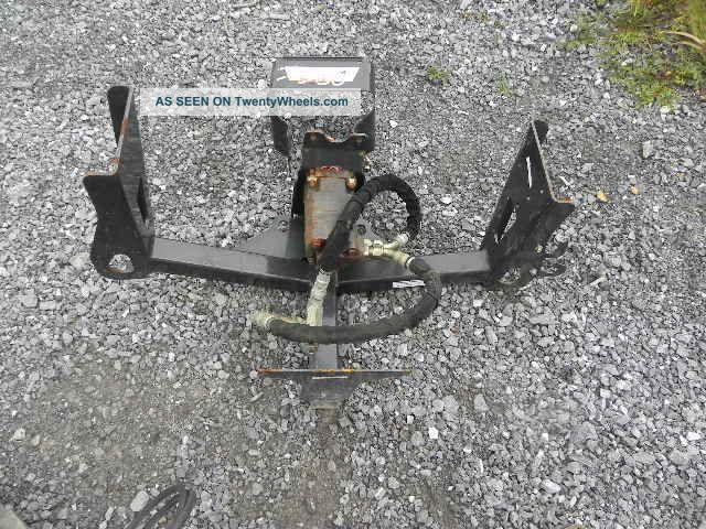 Bobcat Rear Axle : Bobcat t toolcat rear pto kit for running