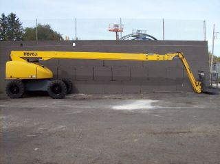 Haulotte Hb76j 4x4 Diesel Telescopic Boom Lift photo