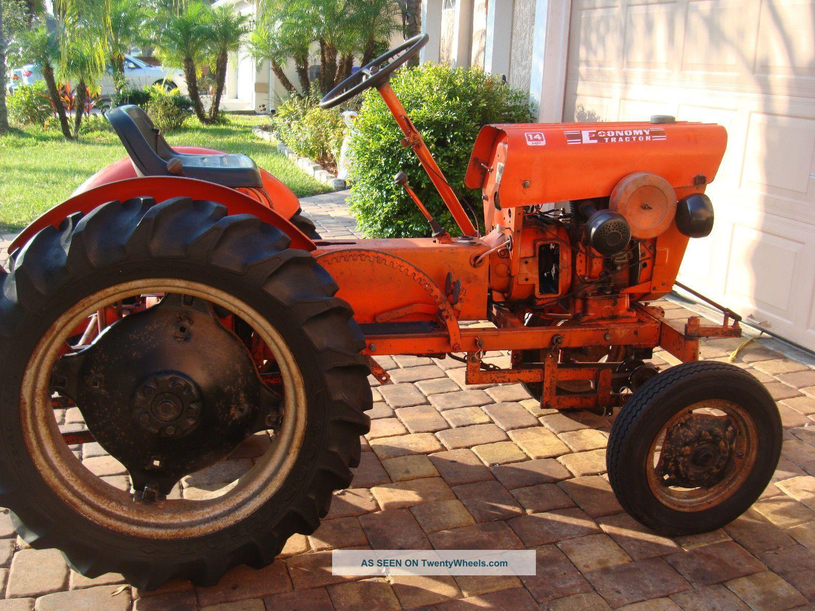 Vintage 1972 Power King Economy Tractor Antique & Vintage Equip Parts photo