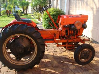 Vintage 1972 Power King Economy Tractor photo