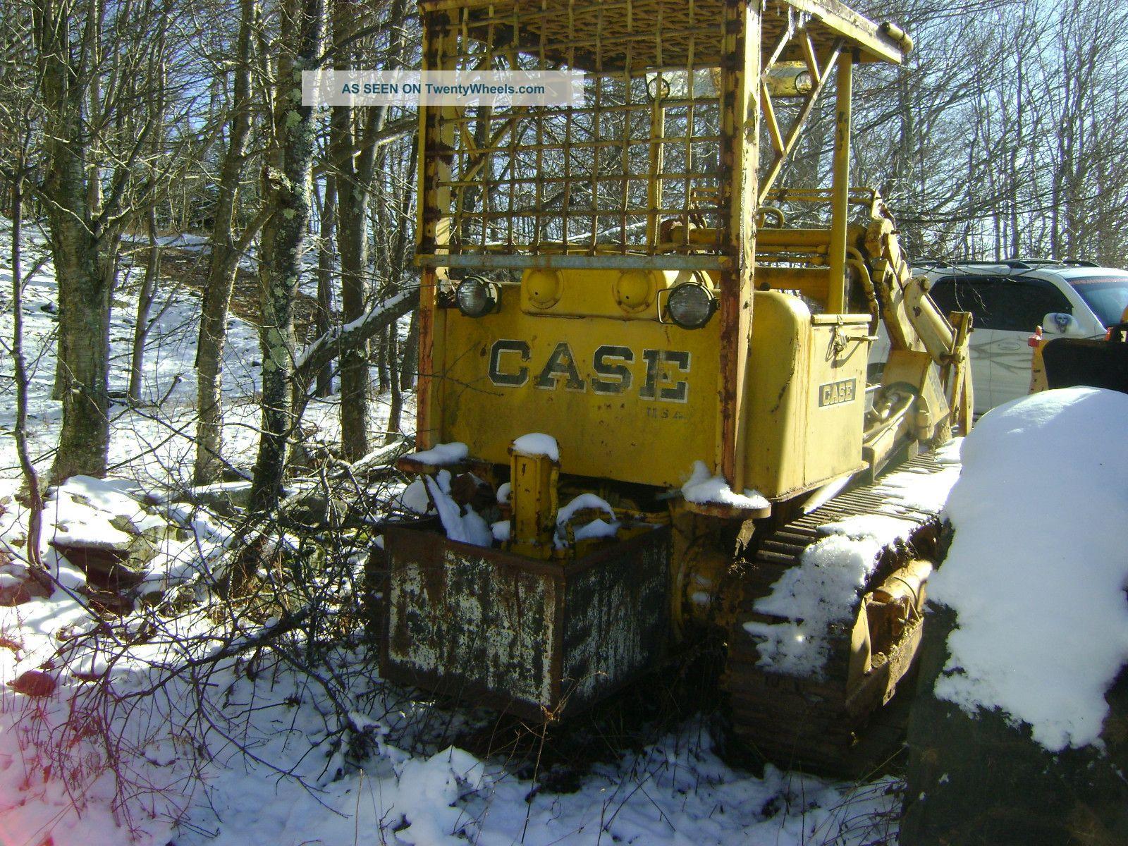 1960 Case Backhoe : S case front loader