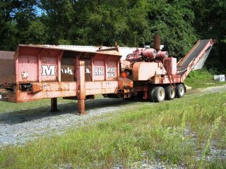 1998 Morbark 5237 Cat Diesel Woodhog Log/wood Chipper/grinder 750 Hp photo