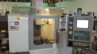 2008 Haas Mini Mill Cnc Vertical Machining Center Ct40 10 Station Atc Coolant photo