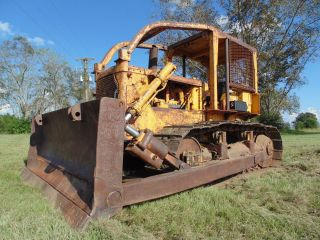 1970 Caterpillar D6c Crawler Dozer Powershift In Mississippi photo