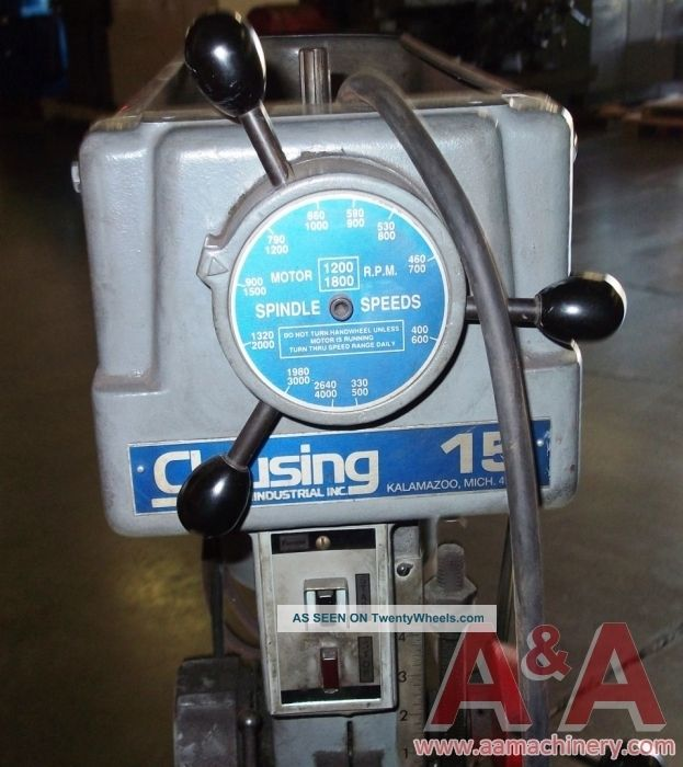 Clausing Model 1681 Drill Press 23189 Drilling & Tapping Machines photo