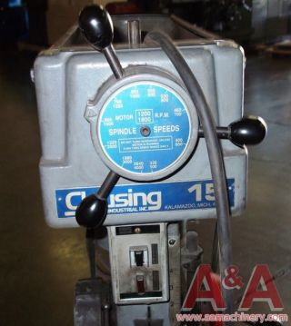 Clausing Model 1681 Drill Press 23189 photo