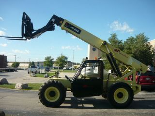 Ingersoll Rand Vr642b Telescopic Forklift Telehandler Skyjack Case Full Cab photo