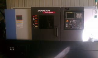 2012 Dooson Puma 2600m Cnc Live Tool Turning Center Lathe Milling Fanuc 0i - Td photo