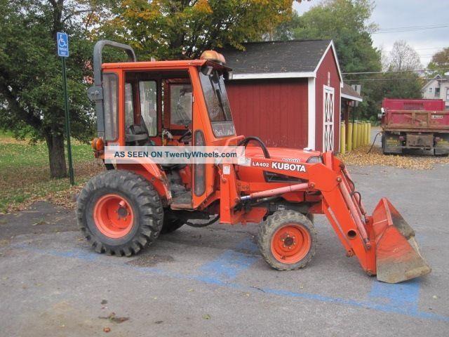 2000 Kubota B2910 Tractor With 53