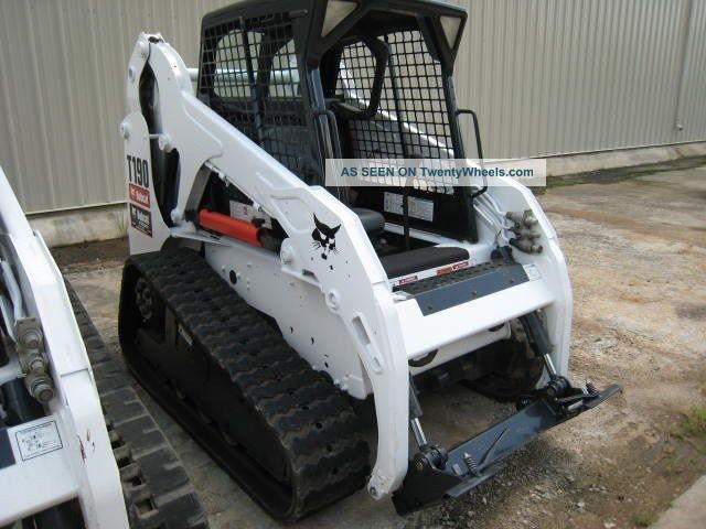 Bobcat Skid Steer Paint : Bobcat t hrs paint great tracks open cab