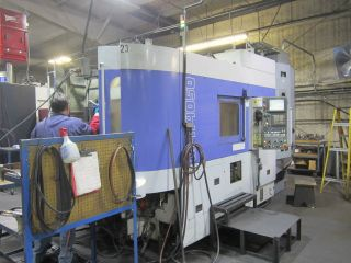 Mitsubishi Horizontal Cnc Machining Center Coolant Thru Spindle photo