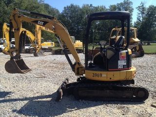 2006 Caterpillar 303c Cr Mini Excavator Thumb photo