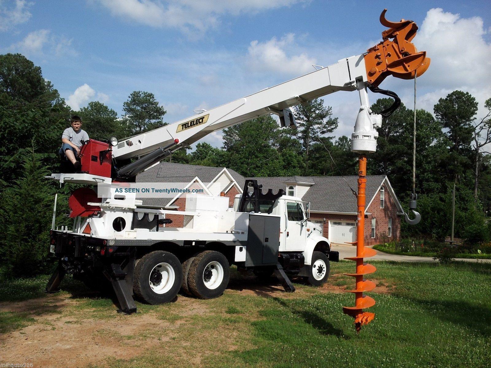 Power Wheels Crane : International  power crane and digger farm