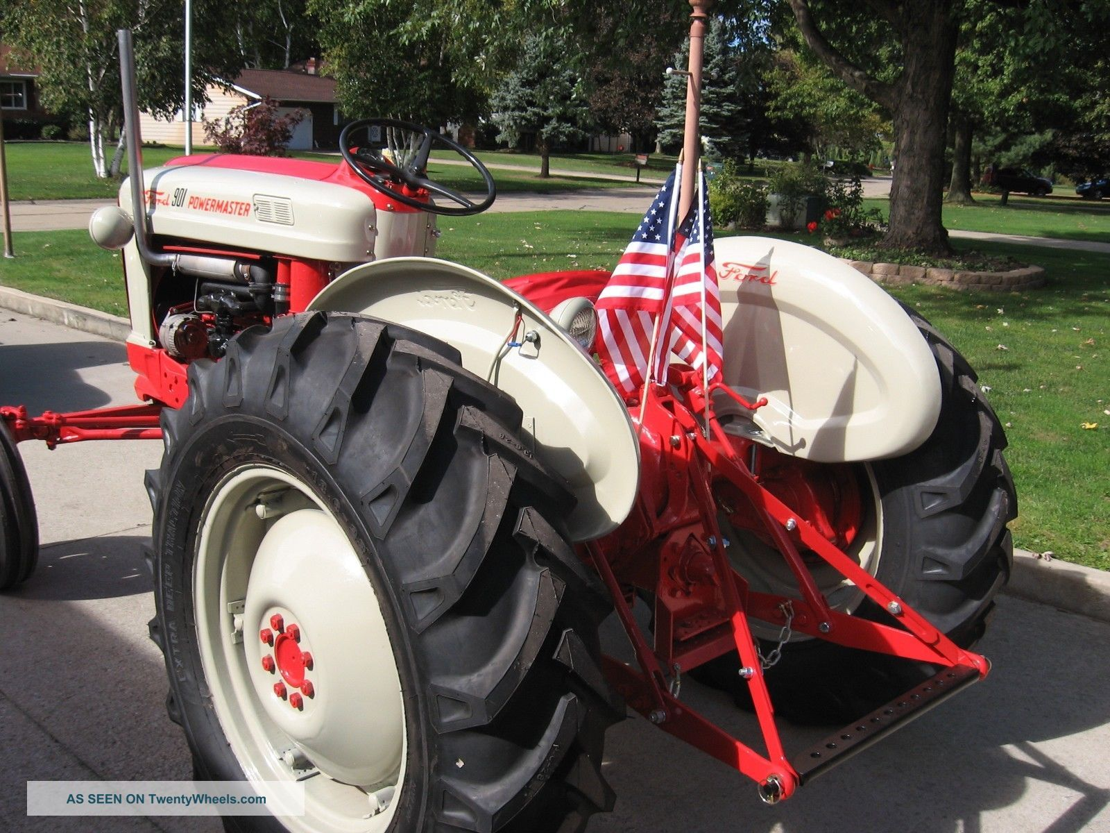 Ford 901 Powermaster Tractor : Ford powermaster