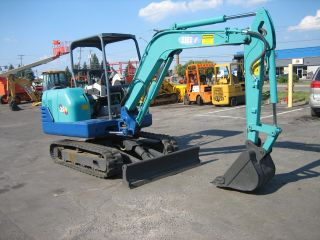 Ihi 35n 2004 Mini Excavator Only 2400 Hrs,  3 Cyl.  Diesel 10 ' Dig photo