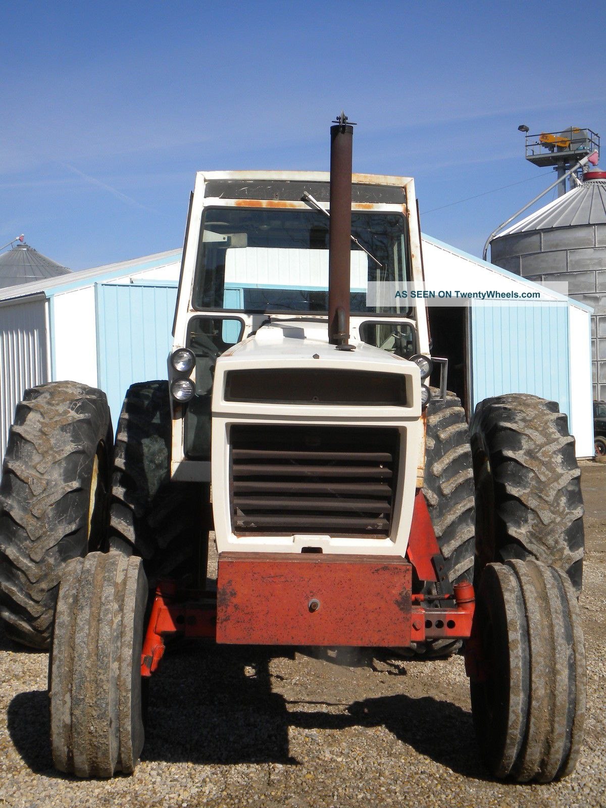 Duel Tractor Spindle : Case diesel tractor power shift ih good radial
