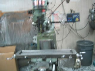 Precision Milling Machine,  Dro On X,  Y & Quill,  Vise,  Swing - N - Stor X,  Z Feeds photo