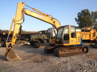 2005 John Deere 135c Lc Excavator With Hydraulic Thumb photo
