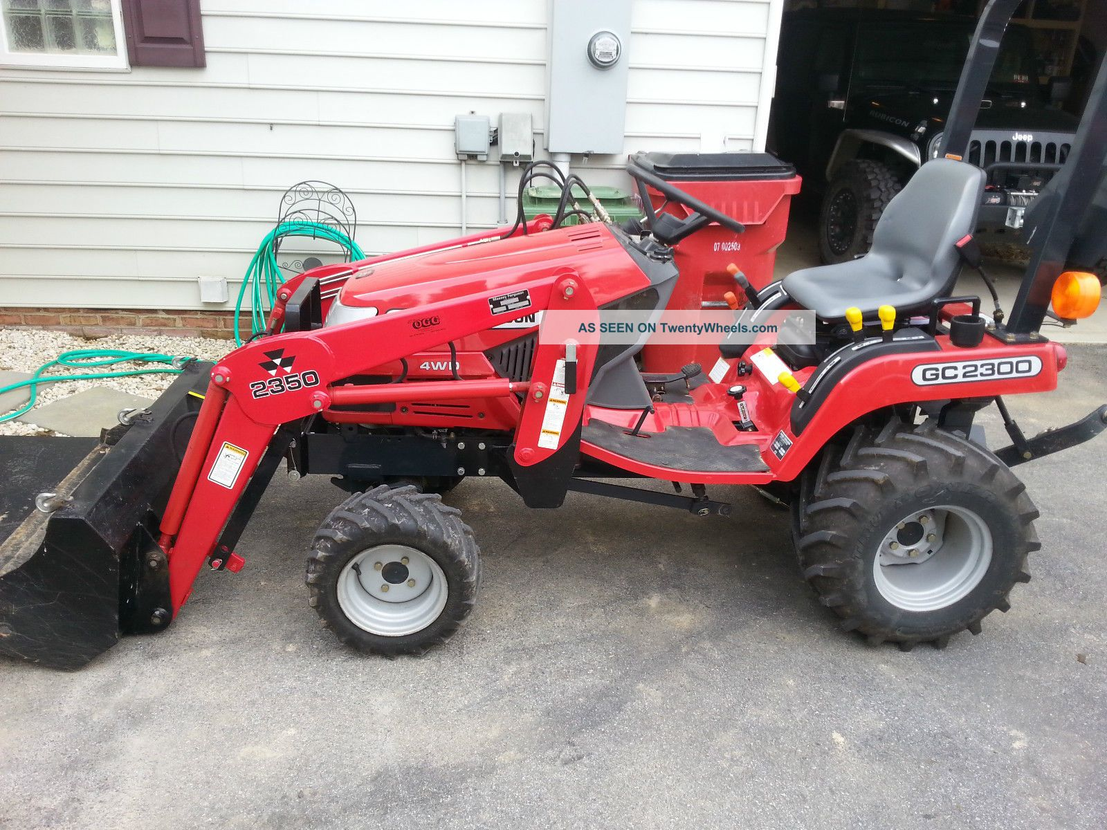 Massey Ferguson 2300 Compact Tractor Parts