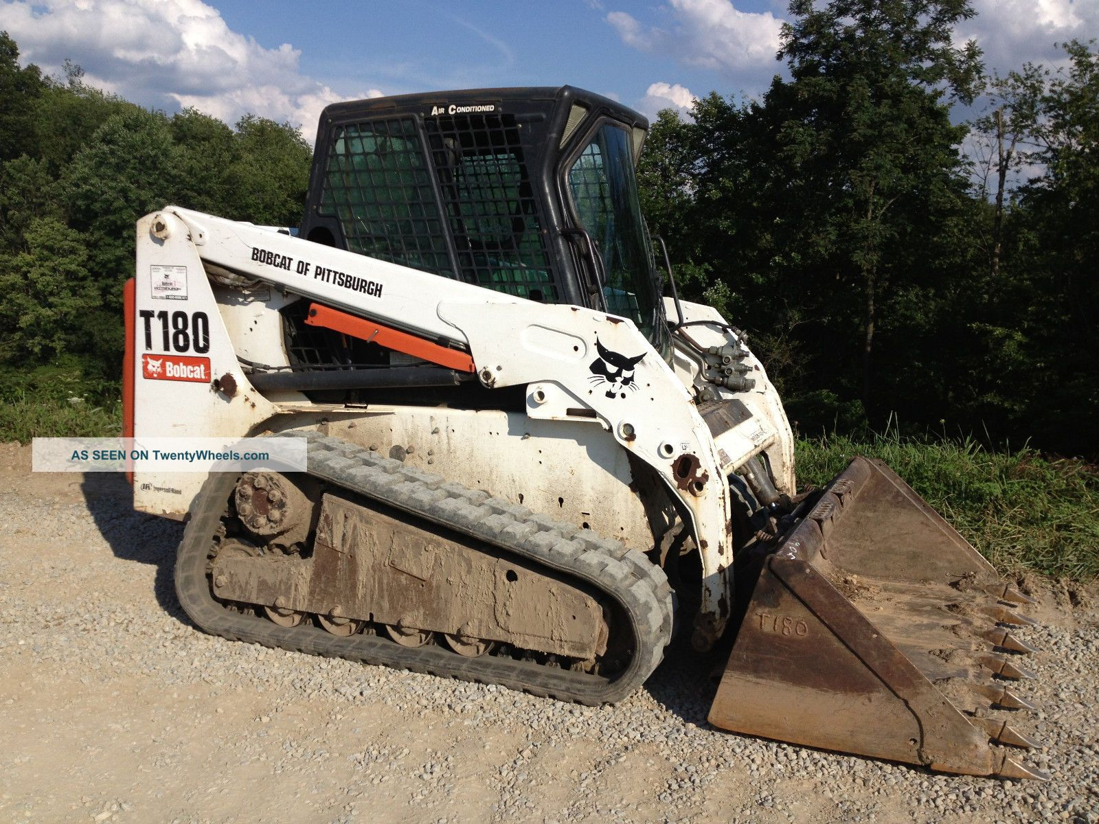 Bobcat Skid Steer Track Loader : Bobcat t compact track loader cab skid steer