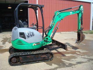 Jcb 8025 Mini Excavator Miniexcavator 1175 Hours W/ 12