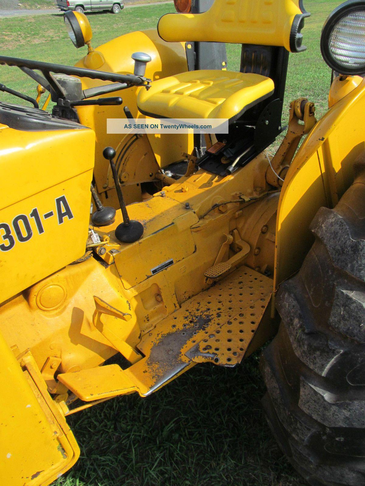 John Deere 301 A Industrial Tractor Loader 43 Hp Diesel Gear Hydro  #C59A06