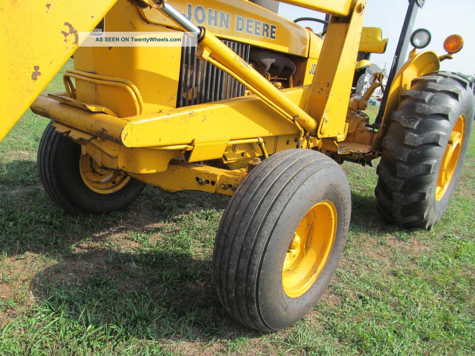 John Deere 301 A Industrial Tractor Loader 43 Hp Diesel