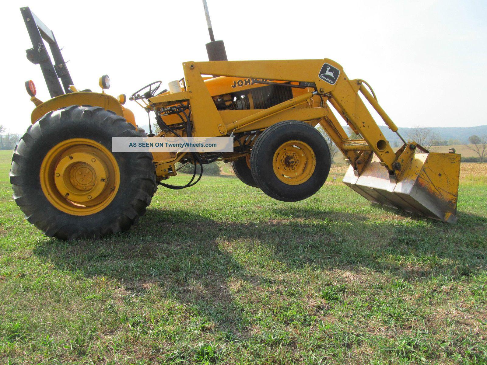 John Deere 301 A Industrial Tractor Loader 43 Hp Diesel Gear Hydro  #A67625