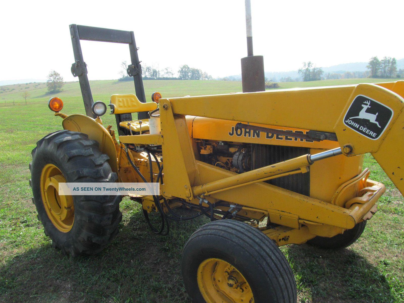 John Deere 301 A Industrial Tractor Loader 43 Hp Diesel Gear Hydro  #AA7621