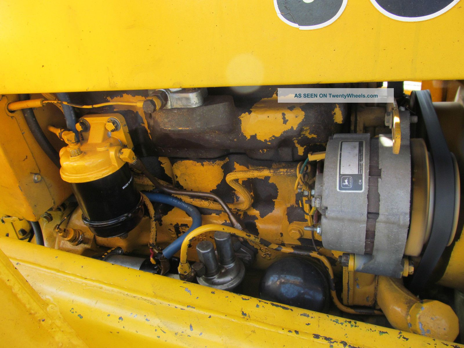 John Deere 301 A Industrial Tractor Loader 43 Hp Diesel Gear Hydro  #BE9B0D