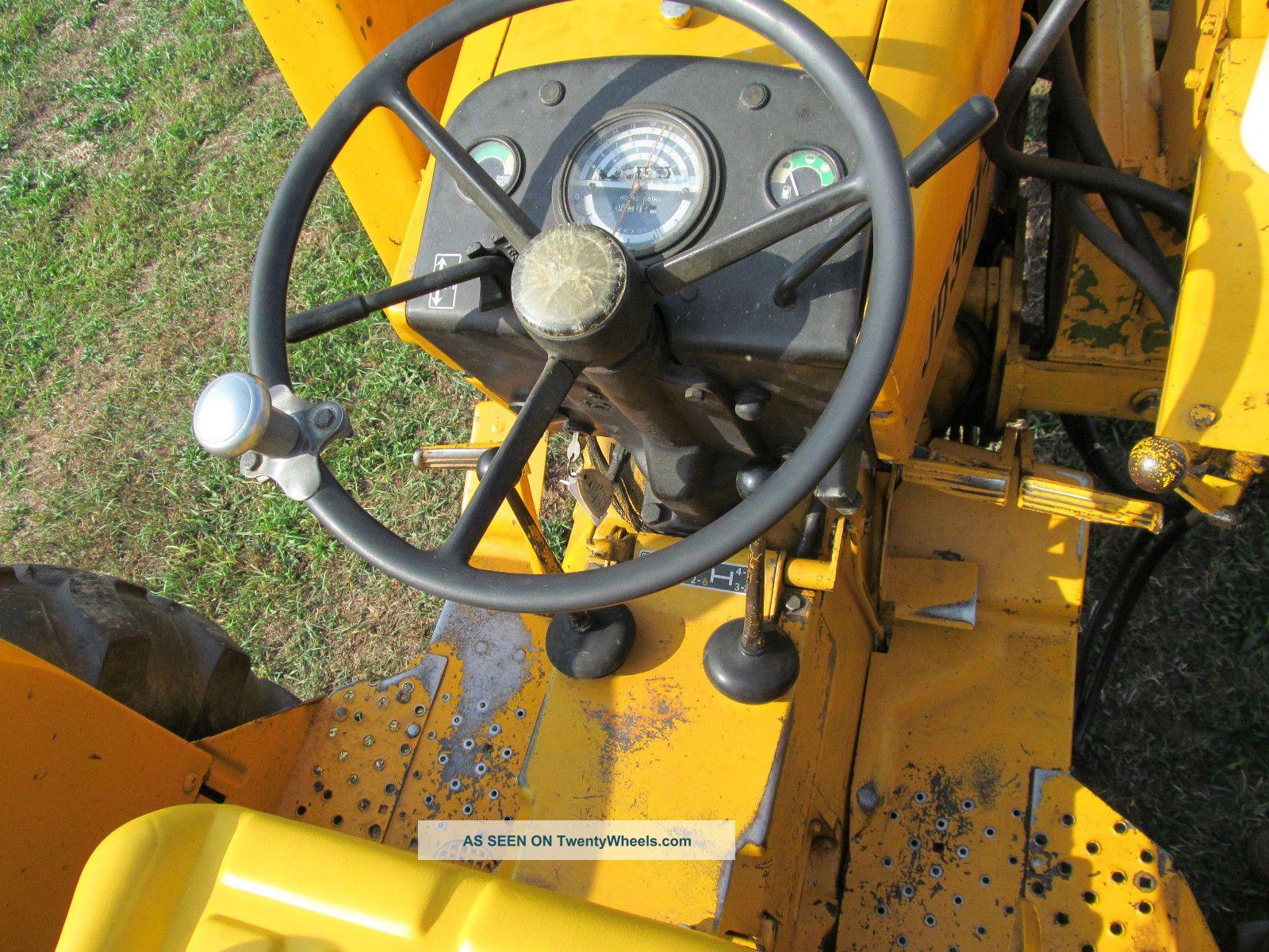 John Deere A Industrial Tractor Loader Hp Diesel Gear Hydro Shuttle Pt Lgw