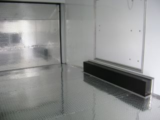 Race Ready Included 8.  5x20 V Nose Black Or White,  Car Hauler All Sizes Available photo