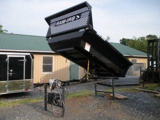 Bri - Mar 8 ' Slide In Dump Bed Landscape 6000lb Lift Capacity 2 Cubic Yards Cap photo