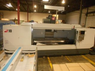 Haas Vf - 10 120x32 Mill Cnc Vertical Machining Center Ct40 10,  000 Rpm Spind photo