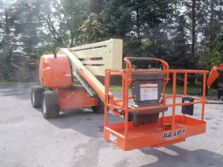 2005 Jlg 450a Aerial Manlift Boom Lift Man Articulating Boomlift 45 ' Lift photo