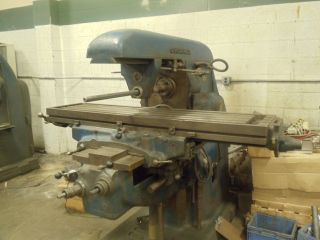 Cincinnati 3 Horizontal Milling Machine photo