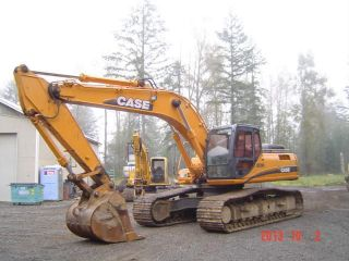 2006 Case Cx290 Excavator 3700 Hours photo