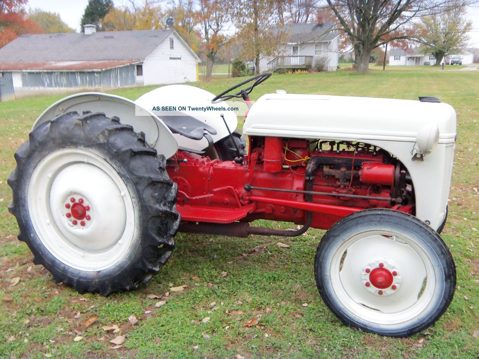 1950 Ford 8n Tractor Parts : Ford n tractor data