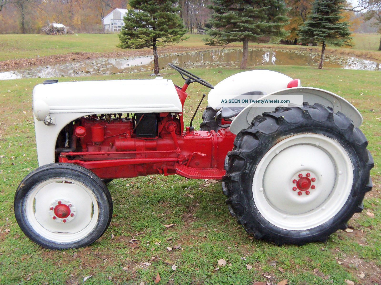 Ford 8n Tractor Dimensions : Ford n tractor data