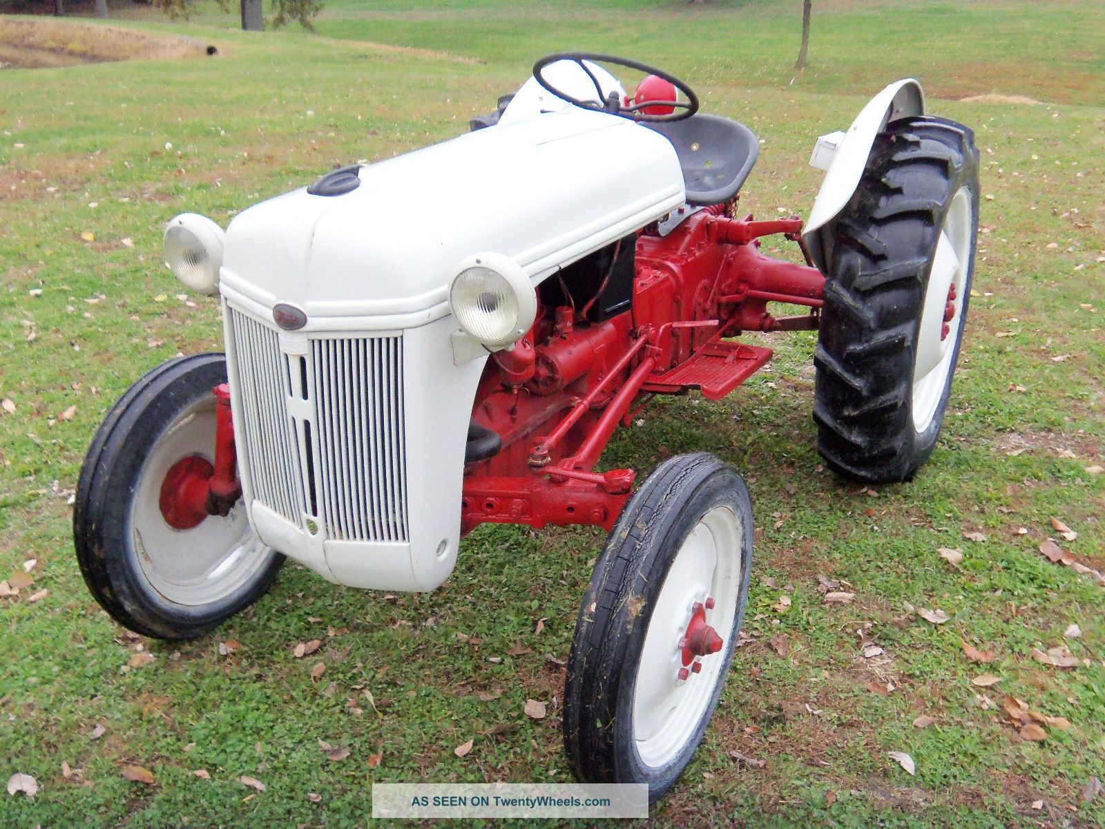 1950 Ford Tractor : Ford n tractor with