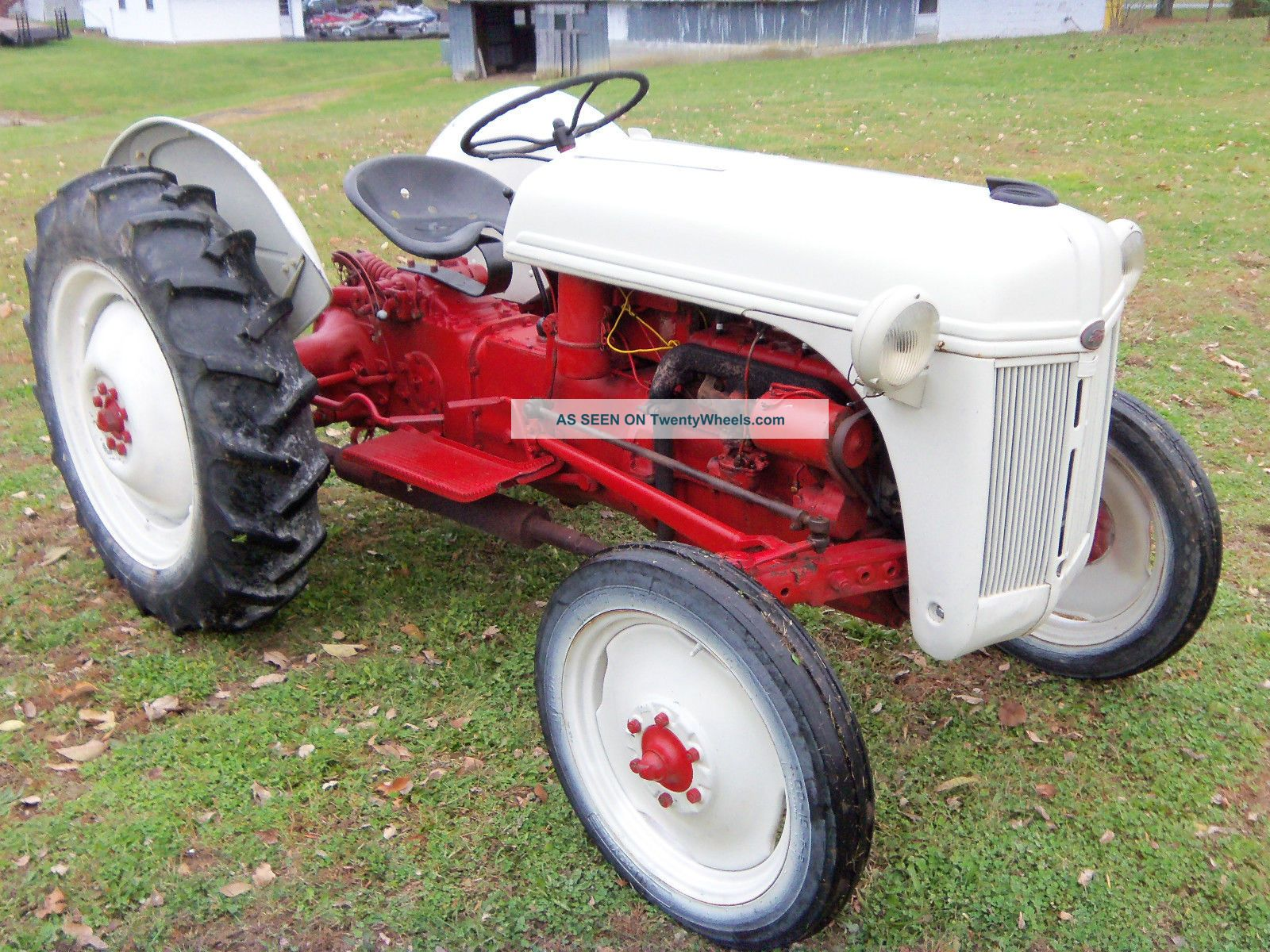 1950 Ford Tractor Tractor Vermilion : Ford n specifications