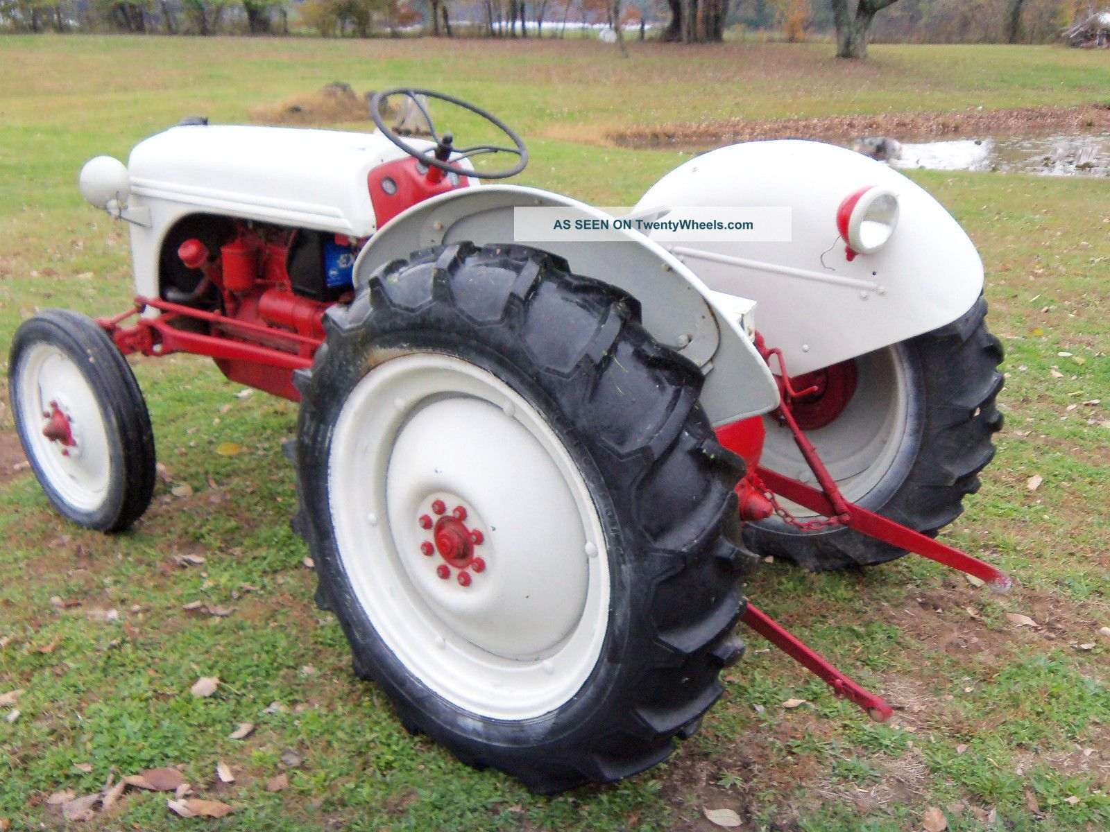 Ford 8n Tractor Dimensions : Ford n specifications