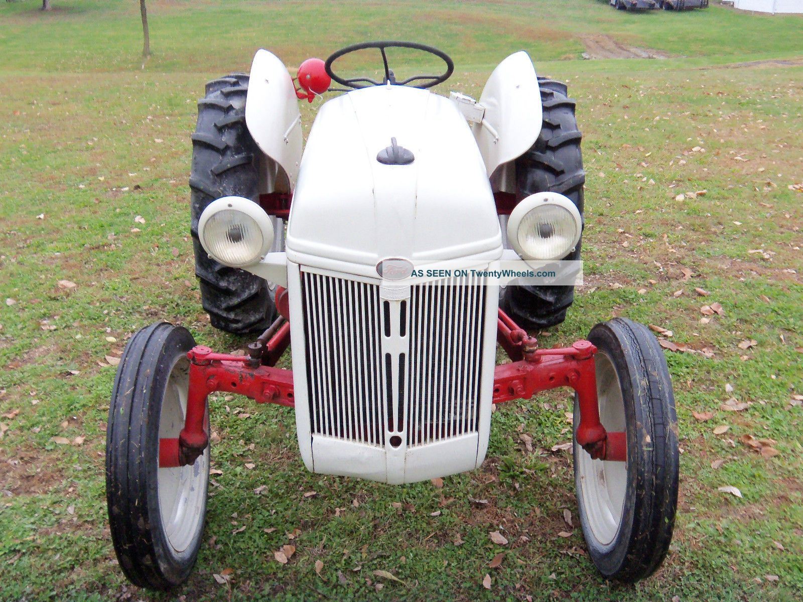 Ford 8n Tractor Dimensions : Ford n tractor with
