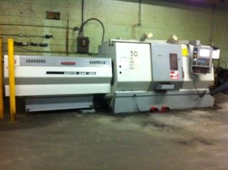 Haas Sl - 30t Cnc Turning Center With Barfeed photo