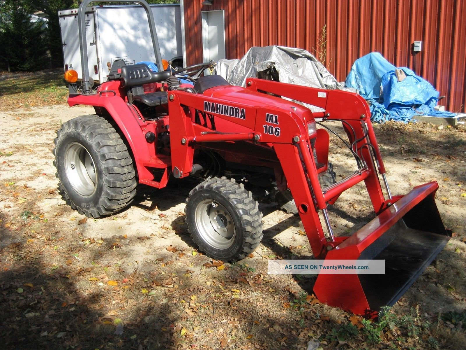 Mahindra Tractor Rims : Mahindra diesel wheel drive tractor with front end