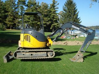 John Deere Excavator 35d Low 1800 Hrs Owner photo