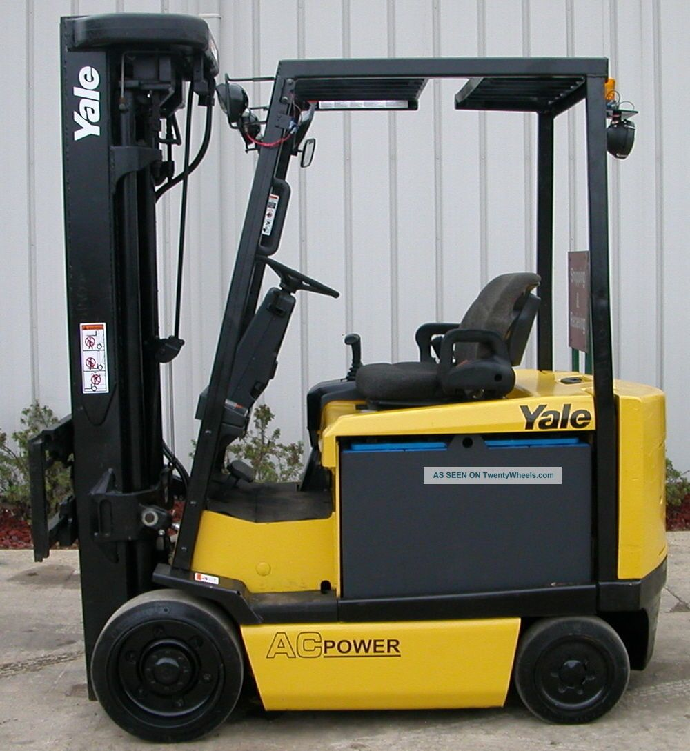 Yale Model Erc060ghn (2006) 6000lbs Capacity Electric Forklift