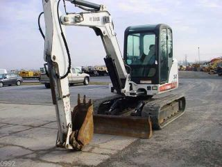 2005 Bobcat 341 Hydraulic Excavator,  Full Cab,  Air,  Heat,  11900 Pound Machine photo